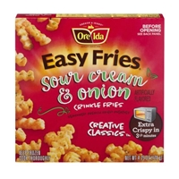 Ore-Ida Easy Fries Sour Cream and Onion Crinkle French Fries Food Product Image