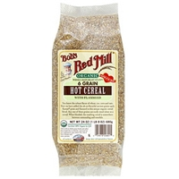 Bob's Red Mill Hot Cereal Organic Whole Grain Right Stuff 6 Grain With Flaxseed 24 Oz Food Product Image