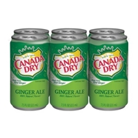 Canada Dry Ginger Ale - 6 CT Food Product Image