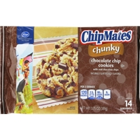 Kroger ChipMates Chunky Chocolate Chip Cookies Food Product Image