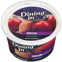 Dining In Alfredo Sauce For Pasta Food Product Image