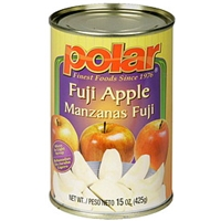 Polar Fuji Apple Slices In Light Syrup Food Product Image