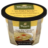 Panera Bread Low-Fat Chicken Noodle Soup Food Product Image