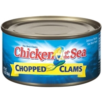 Chicken of the Sea Chopped Clams Food Product Image