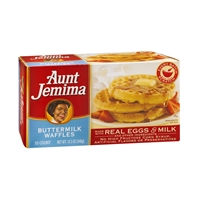 Aunt Jemima Waffles Buttermilk - 10 Ct Food Product Image