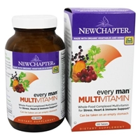 New Chapter Every Man Multivitamin, Tablets Food Product Image