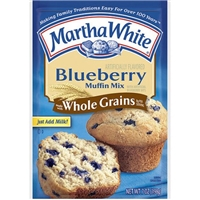 Martha White Blueberry Muffin Mix Food Product Image