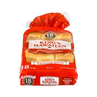 King's Hawaiian Original Hawaiian Sweet Rolls - 18 CT Food Product Image