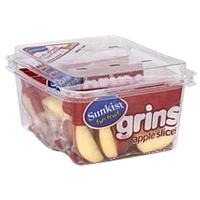 Sunkist Grins Apple Slices Food Product Image