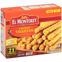 El Monterey Chicken Corn Taquitos Food Product Image