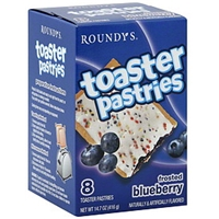 Roundy's Toaster Pastries Frosted Blueberry Food Product Image