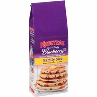 Krusteaz Blueberry Pancake Mix Food Product Image