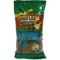 Guiltless Gourmet Tortilla Chips Baked, Blue Corn Food Product Image