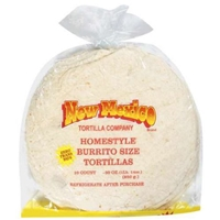 New Mexico Burrito Tortillas Food Product Image