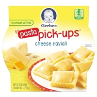Gerber Graduates Pasta Pick-ups - Cheese Ravioli 6oz Food Product Image