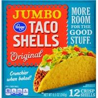 Kroger Jumbo Taco Shells Food Product Image