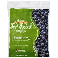 Wegmans Blueberries Food Product Image