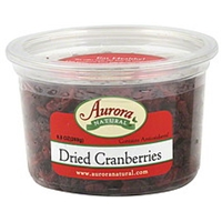 Aurora Natural Dried Cranberries Food Product Image