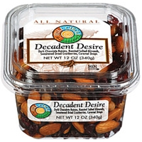 Full Circle Decadent Desire Dark Chocolate Raisins/Roasted Salted Almonds/Sweetened Dried Cranberries/Caramel Drops Food Product Image