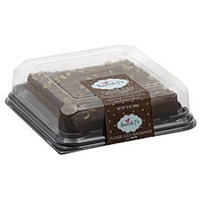 Sweet P's Brownies Fudge Iced, With Nuts Food Product Image