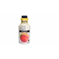 Glen Oaks Drinkable Yogurt Peach Smoothie Food Product Image