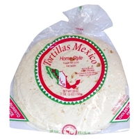 Tortillas Mexico Home Style 10-inch Flour Tortillas 12-ct (28 oz) Food Product Image