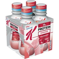 Kellogg's Special K Strawberry Protein Shake - 4 Ct Food Product Image