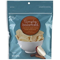 Simply Balanced Freeze Dried Fruit Cinnamon Apple Slices Food Product Image