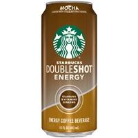 Starbucks Doubleshot Energy Coffee Drink Mocha Food Product Image