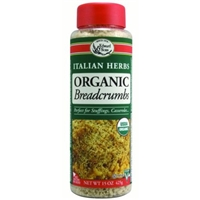 Edward & Sons Organic Breadcrumbs Italian Herbs Food Product Image