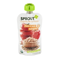 Sprout Organic Baby Food Pasta Lentil Bolognese Food Product Image