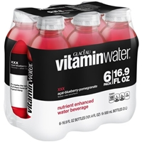 vitaminwater XXX Acai-Blueberry-Pomegranate - 6 PK Food Product Image
