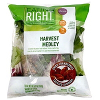 Eating Right Harvest Medley Dried Cranberries/Frosted Almonds Food Product Image