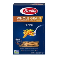 Barilla Pasta Whole Grain Penne Food Product Image