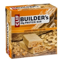 Clif Builder's 20g Protein Bar Crunchy Peanut Butter Food Product Image