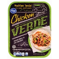 Kroger Chicken Verde With Tomatillo And Mild Green Chili Sauce Food Product Image