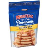 Krusteaz Family Size Buttermilk Pancake Mix Food Product Image