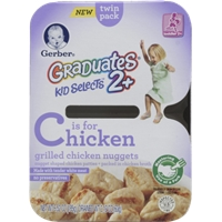 Gerber Graduates 2 + Chicken Nuggets Food Product Image