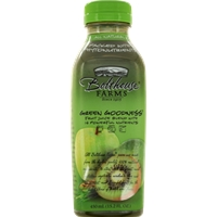 Bolthouse Farms 100% Fruit Juice Smoothie Green Goodness Food Product Image
