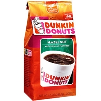 Dunkin' Donuts Hazelnut Ground Coffee Food Product Image