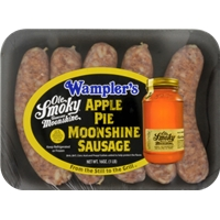 Wampler's Farm Apple Pie Sausage Links Food Product Image