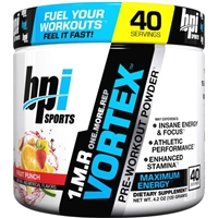 BPI Pre-Workout Powder Fruit Punch Food Product Image