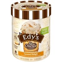 Edy's Slow Churned Light Ice Cream Caramel Delight Food Product Image