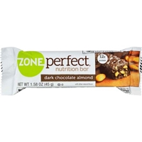 Zone Perfect Nutrition Bar Dark Chocolate Almond Food Product Image