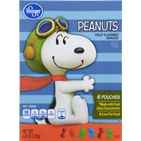 Kroger Peanuts Fruit Snacks Food Product Image