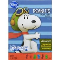 Kroger Peanuts Fruit Snacks Food Product Image