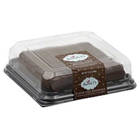 Sweet P's Brownies Fudge Iced Food Product Image