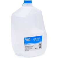 Great Value Water Spring Food Product Image