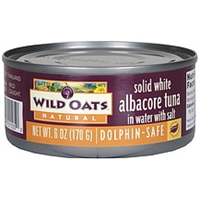 Wild Oats Albacore Tuna Solid White In Water With Salt Food Product Image