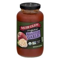 Muir Glen Organic Pasta Sauce Garlic Roasted Garlic Food Product Image